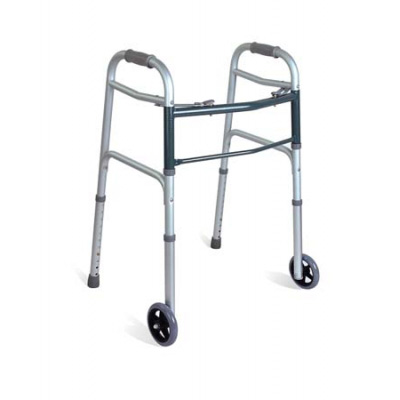 Aluminum Two Button Release Folding Walker