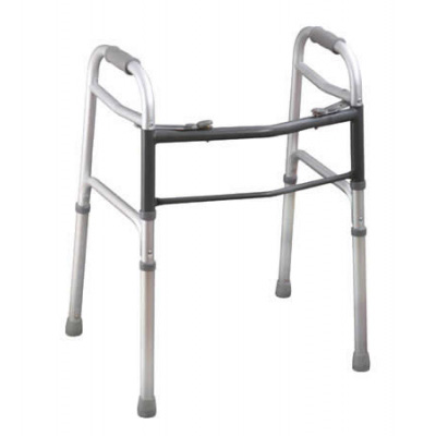Aluminun Two Button folding Walker