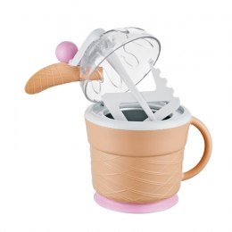 Cone Bucket Manual Ice-Cream Maker