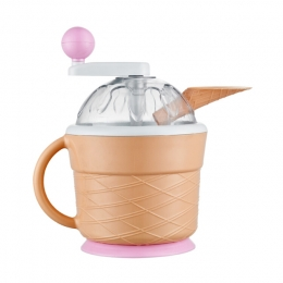 Cone Bucket Manual Ice-Cream Maker