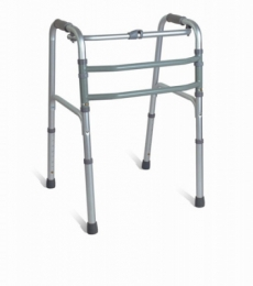 Aluminum One Button Folding Walker