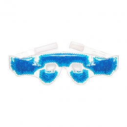 Cold/Hot Eye Mask with Gel Beads