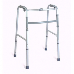 Aluminun One Button folding Walker