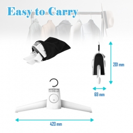 2-in-1 Shoes & Clothes Dryer Hanger