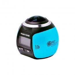 Câmera de ação panorâmica
