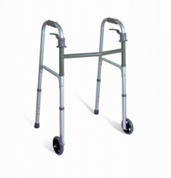 Aluminum Two Paddle Folding Walker
