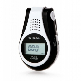 Talking Pedometer with clip