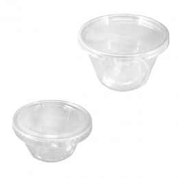 Disposable PLA Deli Container and Portion Cup