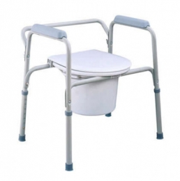 Steel 3-in-1 Commode Chair