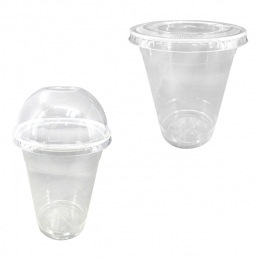 Disposable PLA Cold Drink Cups and Lids