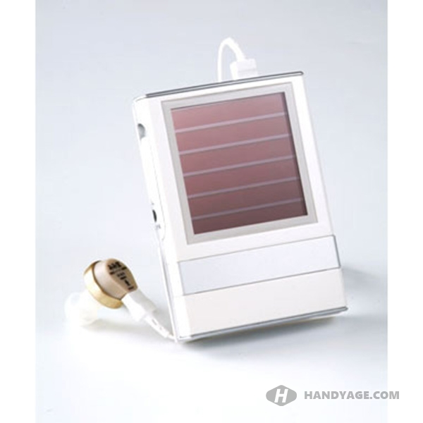 Solar Rechargeable Hearing Aid  (Single Ear)